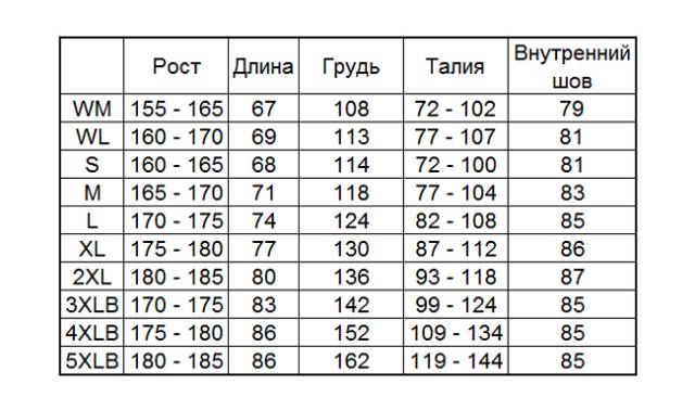 дождевик Komine RK-539, чёрный, 4XLB