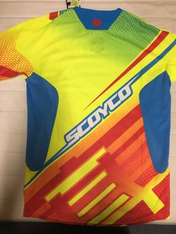 джерси Scoyco T204, жёлтая, S