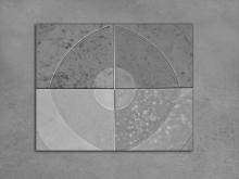 Тротуарная плитка Кольцо серое