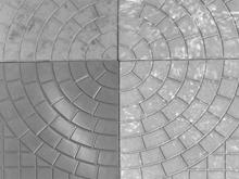 Тротуарная плитка Колодец серый