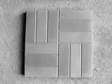 Тротуарная плитка Сетка крупная (12 кирпичей)  серая