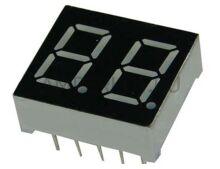 Семисегментный индикатор 2 символа с точкой 0.56