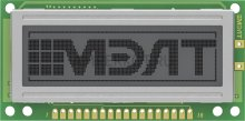 Графический LCD дисплей MT-12232A-1G