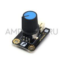 DFRobot модуль переменного резистора (потенциометра), Rotation Sensor V2 L DFR0054