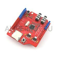Arduino шилд воспроизведения и записи звука VS1053