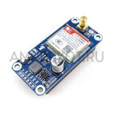 Raspberry Pi NB-IoT/eMTC/EDGE/GPRS/GNSS 4G SIM7000C шилд