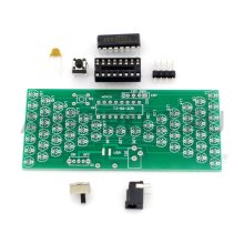DIY набор для сборки электронных песочных часов 57 LED