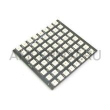WS2812 5050 RGB LED матрица прямоугольная 64 светодиода