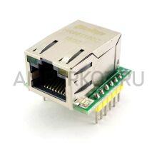 W5500 модуль Ethernet TCP/IP WIZ820io RC5