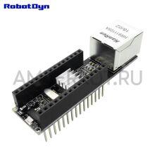 Ethernet модуль Nano W5500 RobotDyn 3.3V/5V V2