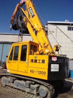 Буровая установка KATO KE1200 1988 года в Японии