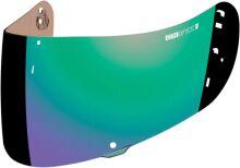 Визор Optics для шлема Icon зеленый зеркальный (Airmada, Airframe Pro, Airform)