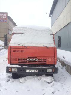 Тягач КАМАЗ 5511 с телегой сзап 1988 года в Новосибирске