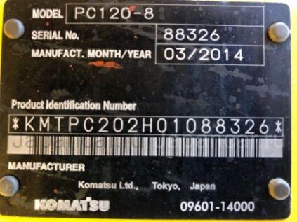 Экскаватор KOMATSU PC120-8 2014 года во Владивостоке