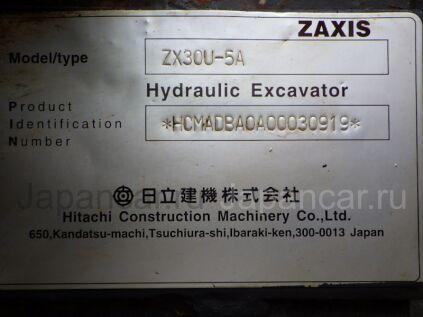 Экскаватор мини Hitachi ZX30U-5A 2013 года во Владивостоке