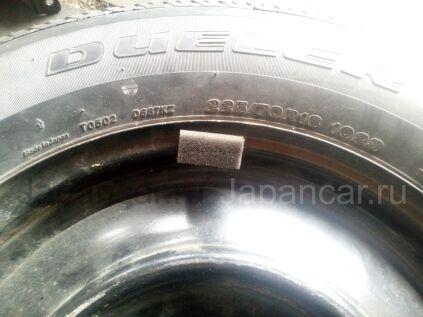 Летниe колеса Bridgestone Dueler 225/70 16 дюймов Suzuki новые во Владивостоке