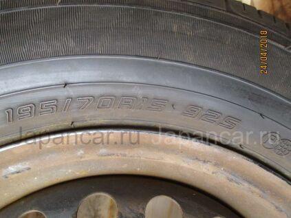Летниe шины Dunlop 195/70 15 дюймов б/у в Томске