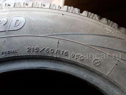 Зимние шины Yokohama Iceguard 215/60 16 дюймов б/у в Уссурийске