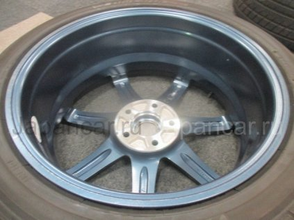 Летниe колеса Yokohama blue earth rv01 225/45 18 дюймов Enkei ширина 7.5 дюймов вылет 48 мм. б/у во Владивостоке