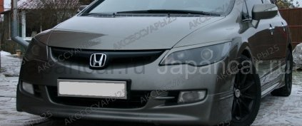 Реснички на Honda Civic Type R во Владивостоке