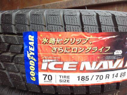 Зимние шины Япония Goodyear ice navi 6 185/70 14 дюймов новые во Владивостоке