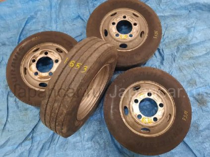 Летниe шины Bridgestone Duravis 205/75 16 дюймов б/у в Барнауле