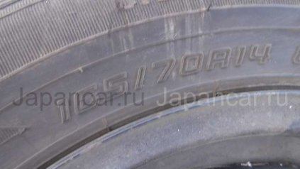 Летниe шины Toyota Aqua 165/70 14 дюймов б/у во Владивостоке