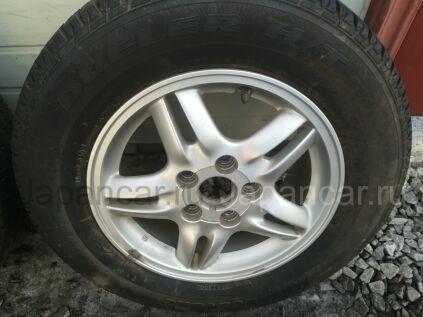 Летниe колеса Dunlop Enasave 205/70 15 дюймов Honda ширина 6 дюймов вылет 50 мм. б/у в Хабаровске