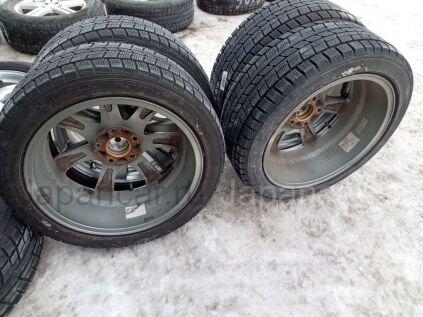 Зимние шины Dunlop dsx 205/50 17 дюймов б/у в Челябинске