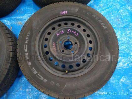 Зимние колеса Kenda Icetec neo kr36 215/70 16 дюймов Honda вылет 5 мм. б/у в Барнауле