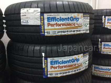 Летниe шины Goodyear efficientgrip perforance 215/55 17 дюймов новые во Владивостоке