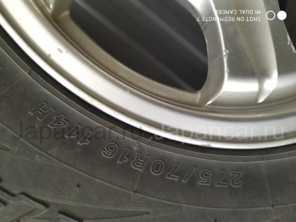 Всесезонные колеса Yokohama geolandar h/t 275/70 16 дюймов Keeler б/у во Владивостоке