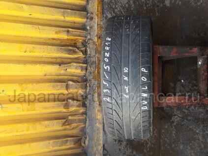 Шины Dunlop Direzza 235/50 18 дюймов б/у в Москве