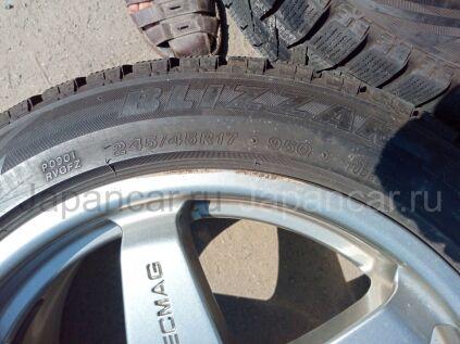 Зимние шины Bridgestone Blizzak revo gz 245/45 17 дюймов б/у в Челябинске