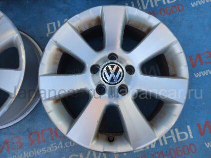 Диски 16 дюймов Volkswagen ширина 6.5 дюймов вылет 33 мм. б/у в Новосибирске