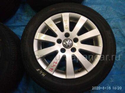 Летниe колеса Dunlop Veuro ve 303 215/55 16 дюймов Volkswagen вылет 5 мм. б/у в Барнауле