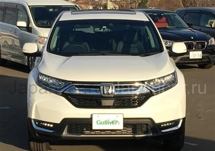 Honda CR-V 2018 года в Японии, TOYAMA