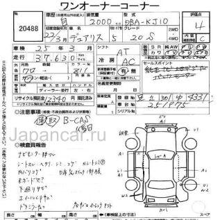 Nissan Dualis 2010 года в Японии, TOKYO