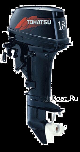 мотор подвесной TOHATSU M 18 EPS 2009 года