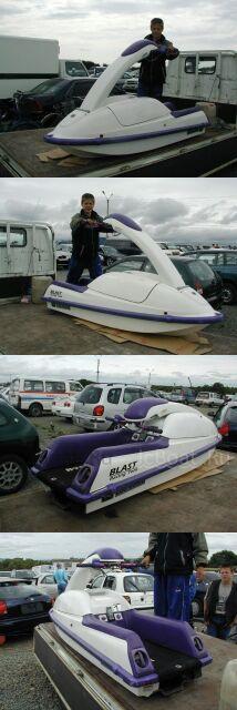 водный мотоцикл KAWASAKI Blast-Racing Tech 1995 года