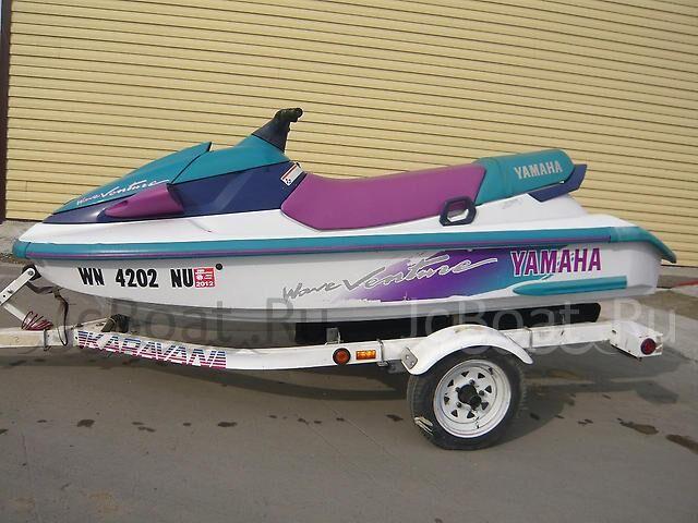 лодка пластиковая YAMAHA WAVE VENTURE 2001 года