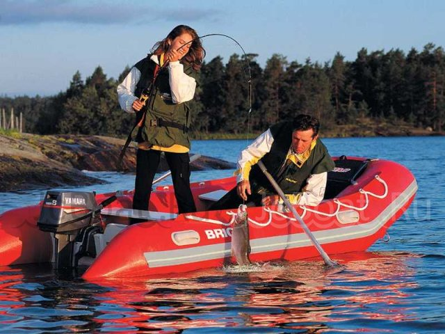 лодка резиновая BAJA BOATS BRIG 2004 года