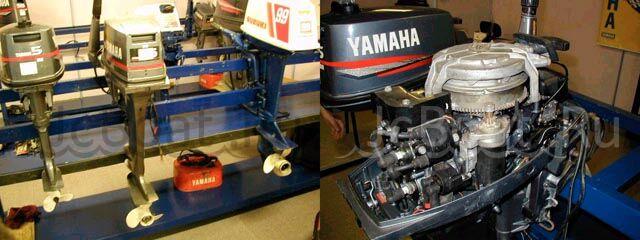 мотор подвесной YAMAHA 15 1993 года