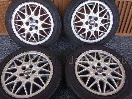 Летниe колеса Dunlop 205/50 15 дюймов Bbs ширина 6.5 дюймов вылет 43 мм. б/у во Владивостоке
