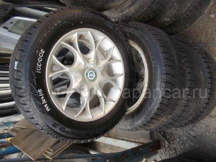 Зимние колеса Bridgestone Blizzak revo 2 195/65 15 дюймов Woltech вылет 35 мм. б/у во Владивостоке