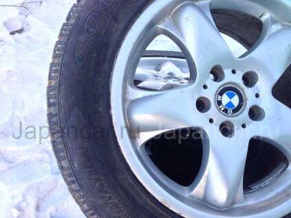 Зимние колеса Goodyear На литье от bmw x5 255/55 18 дюймов б/у во Владивостоке