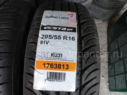 Летниe шины Kumho ecsta spt ku31 205/55 16 дюймов новые во Владивостоке