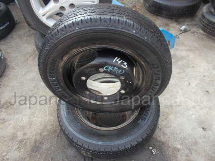 Колеса Bridgestone Duravis 155/- 12 дюймов б/у во Владивостоке