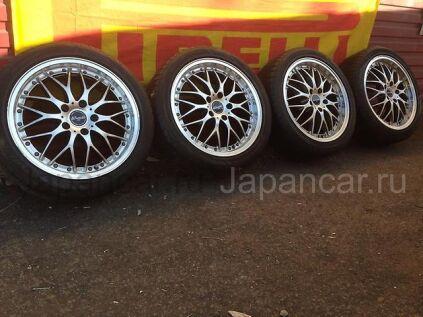 Летниe колеса Bridgestone Playz pz1 215/45 17 дюймов Monza ширина 7 дюймов вылет 48 мм. б/у во Владивостоке