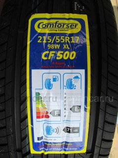 Летниe шины Comforser Cf500 215/55 17 дюймов новые во Владивостоке